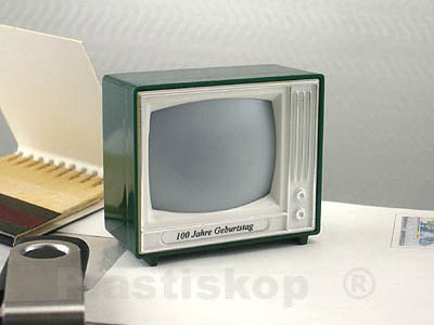 Plastiskop Click TV classic with 8 interior images