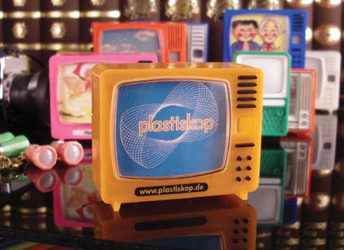 Plastiskop picture viewer click tv